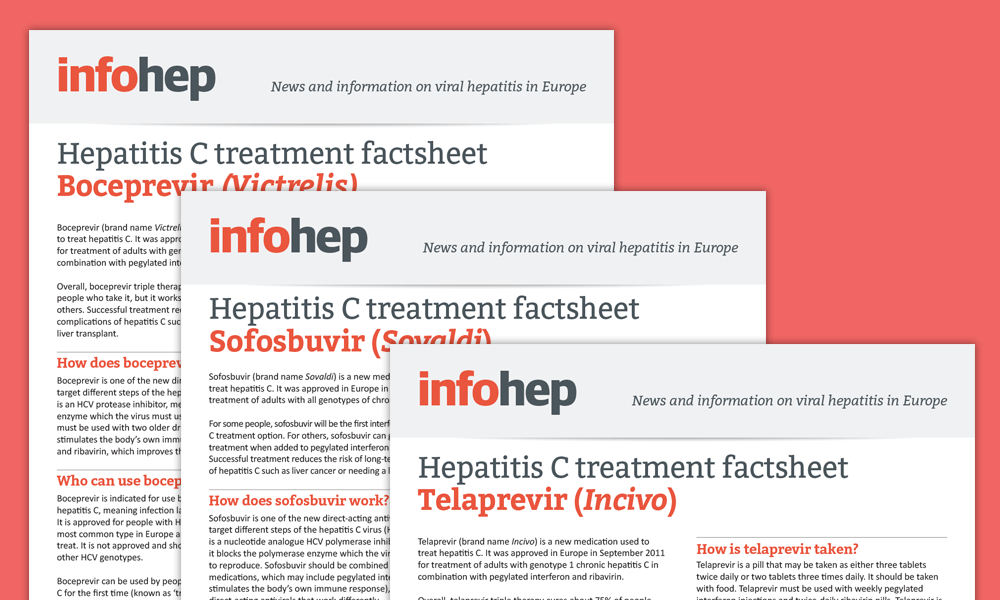 Hepatitis C treatment factsheets