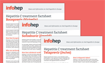 New! Hepatitis C treatment factsheets