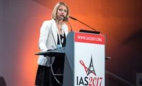 Karine Lacombe at IAS 2017. Photo by Steve Forrest/Workers' Photos/IAS