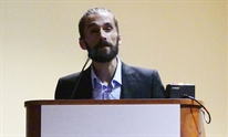 Antoine Chaillon presenting at The Liver Meeting 2017. Photo by Liz Highleyman, hivandhepatitis.com