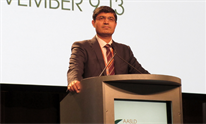 Rohit Loomba at the 2018 AASLD Liver Meeting. Photo by Liz Highleyman.