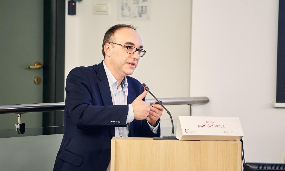 Dr Jerzy Jaroszewicz at the Standard of Care meeting. Photo by Valentin Boboc.