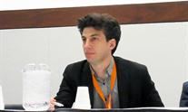 Jordan Feld at The Liver Meeting. Photo by Liz Highleyman.